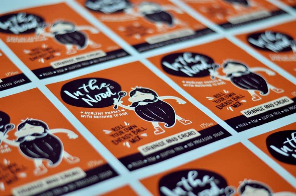 printed packaging labels