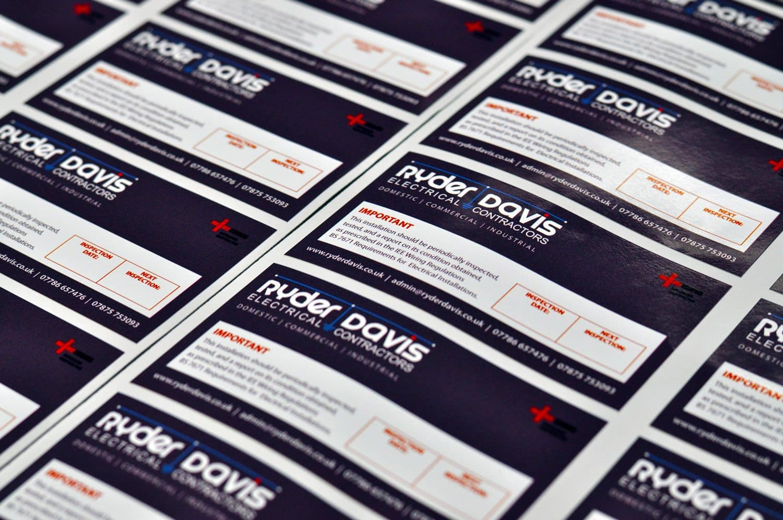 service label printing
