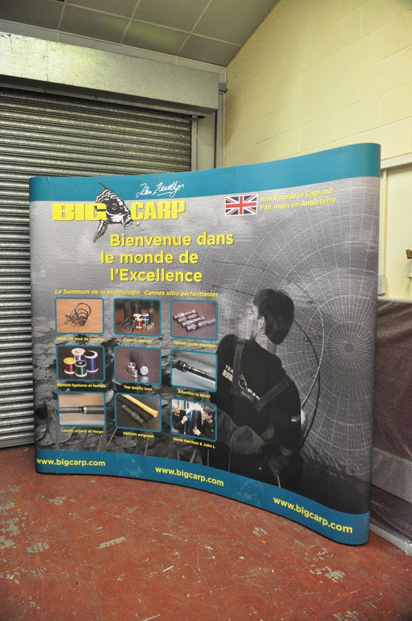 replacement pop up exhibition graphics