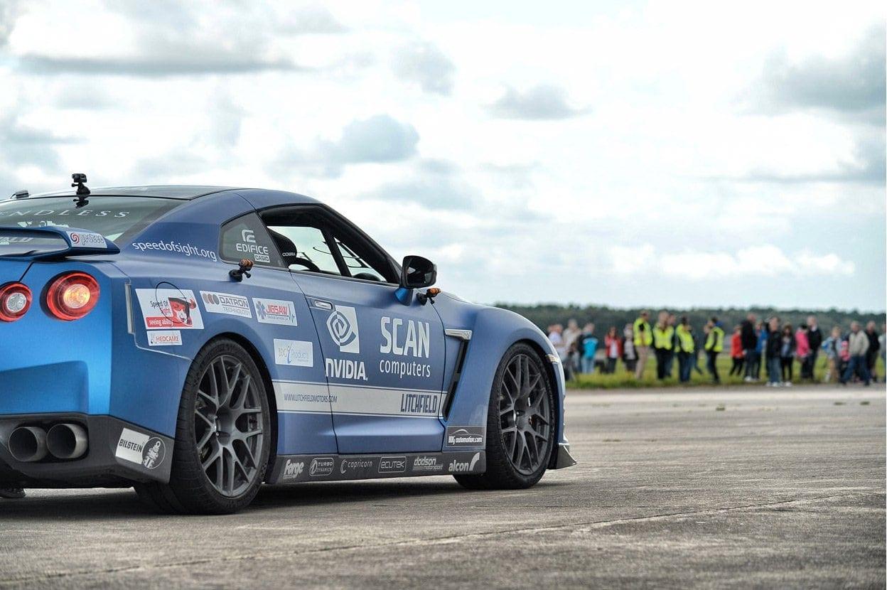 Nissan GTR wrap for litchfield