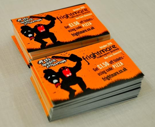 Printed litho paper stickers
