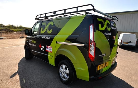ford transit vehicle graphics