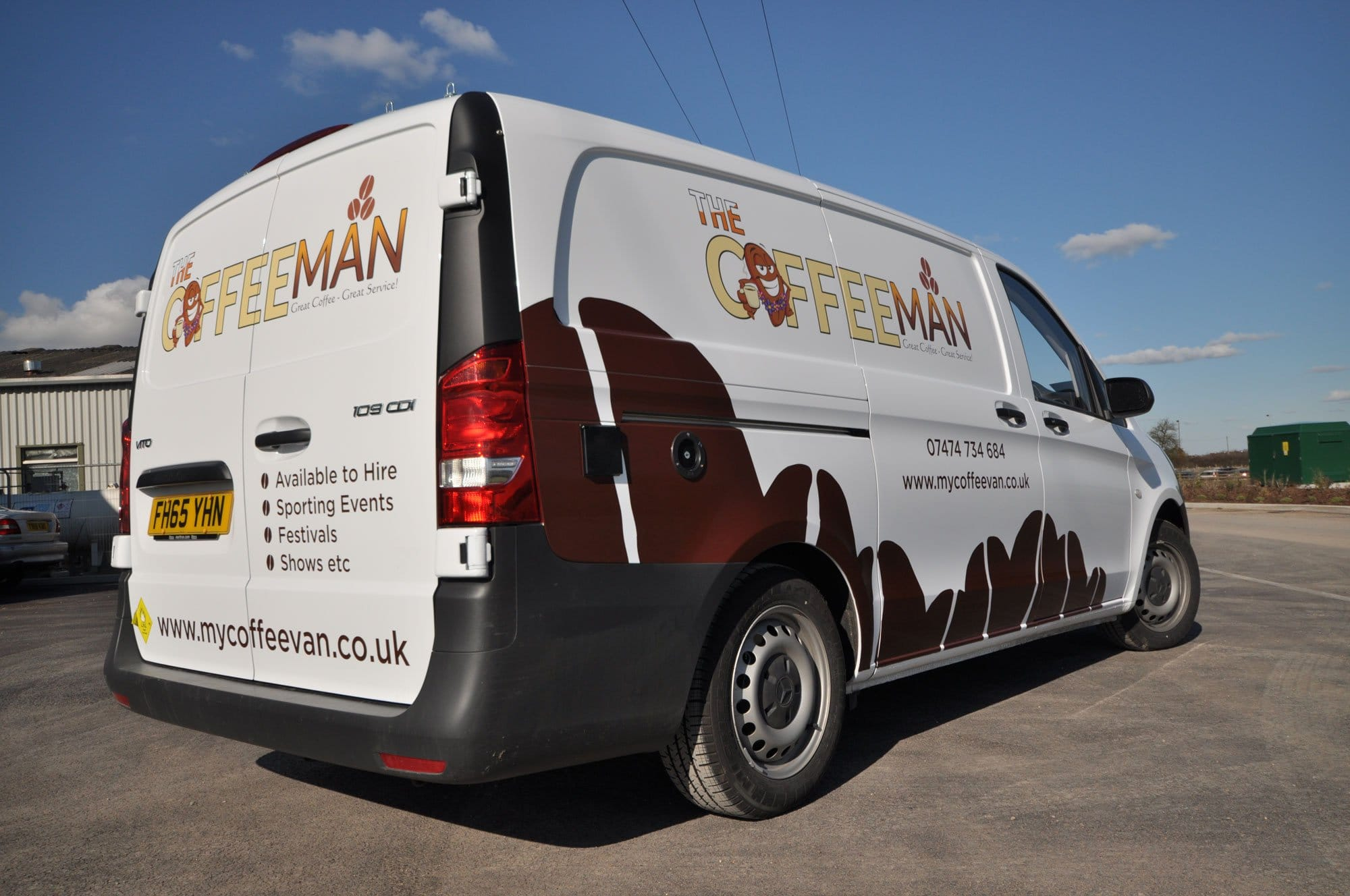 Vehicle graphics for vans in cheltenham