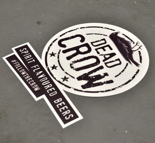 non slip printed floor vinyl graphic
