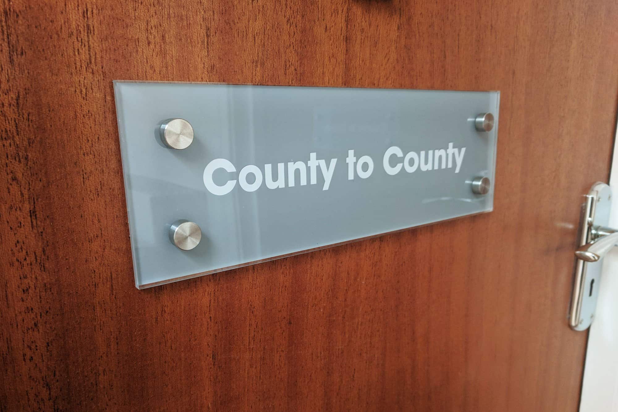 County to County Signs