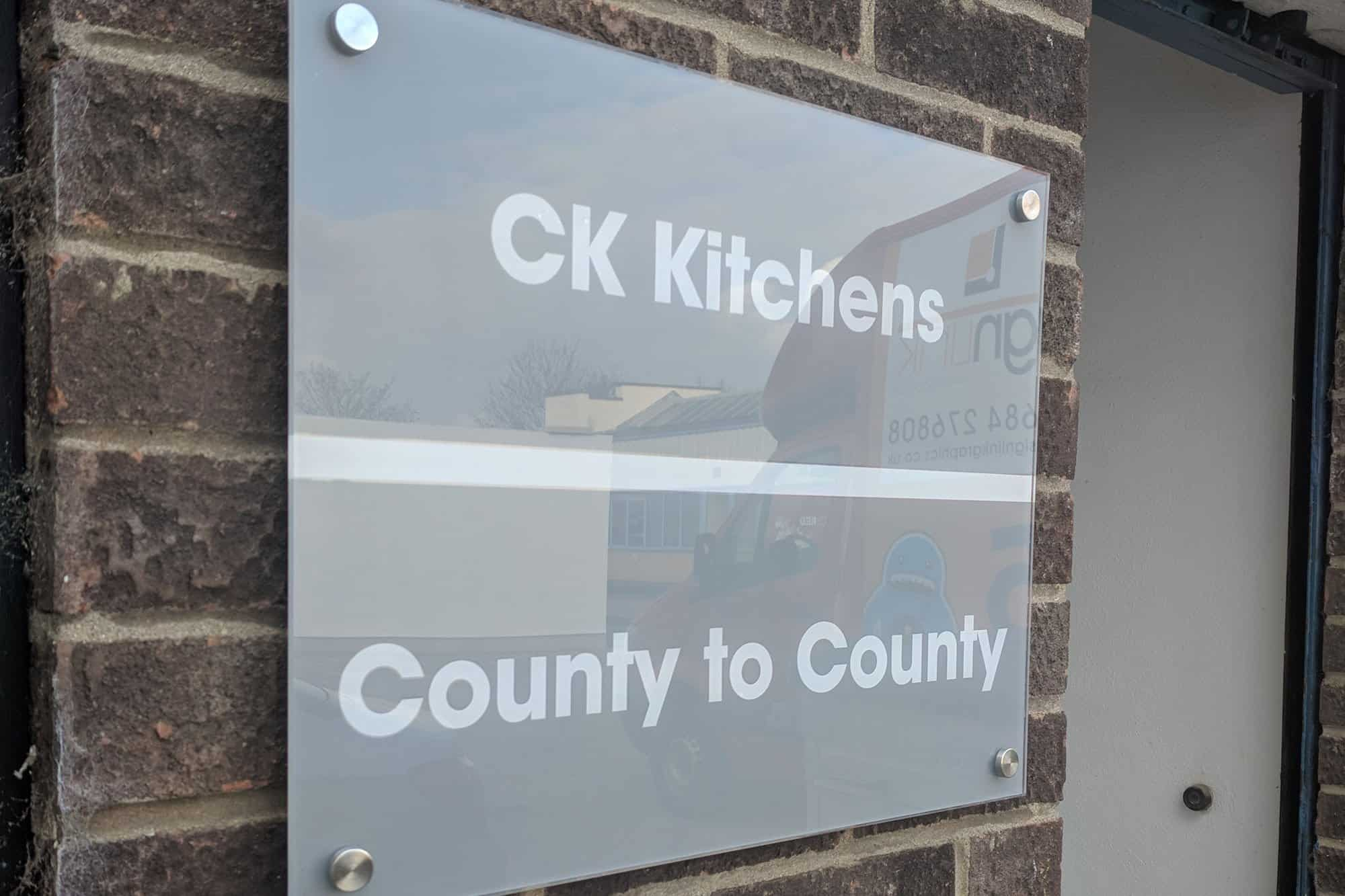 County to County Office Signs