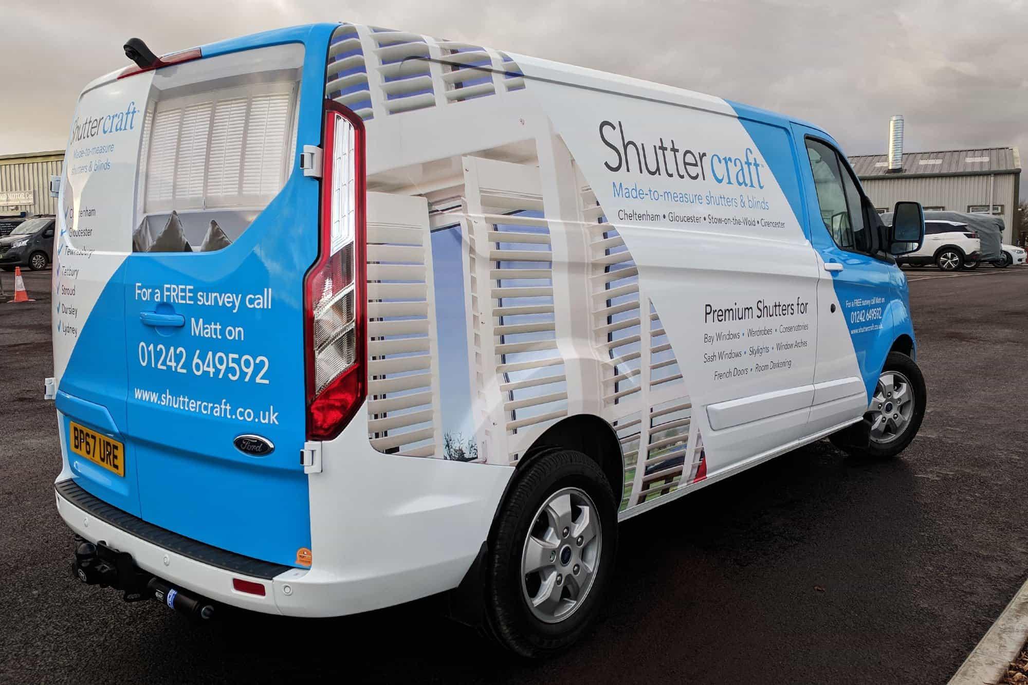 Shuttercraft Transit Custom Wrap