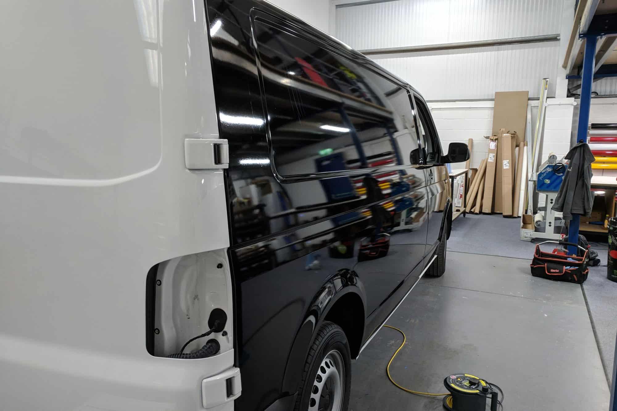 Full Vehicle Wrap in Avery Supreme Black