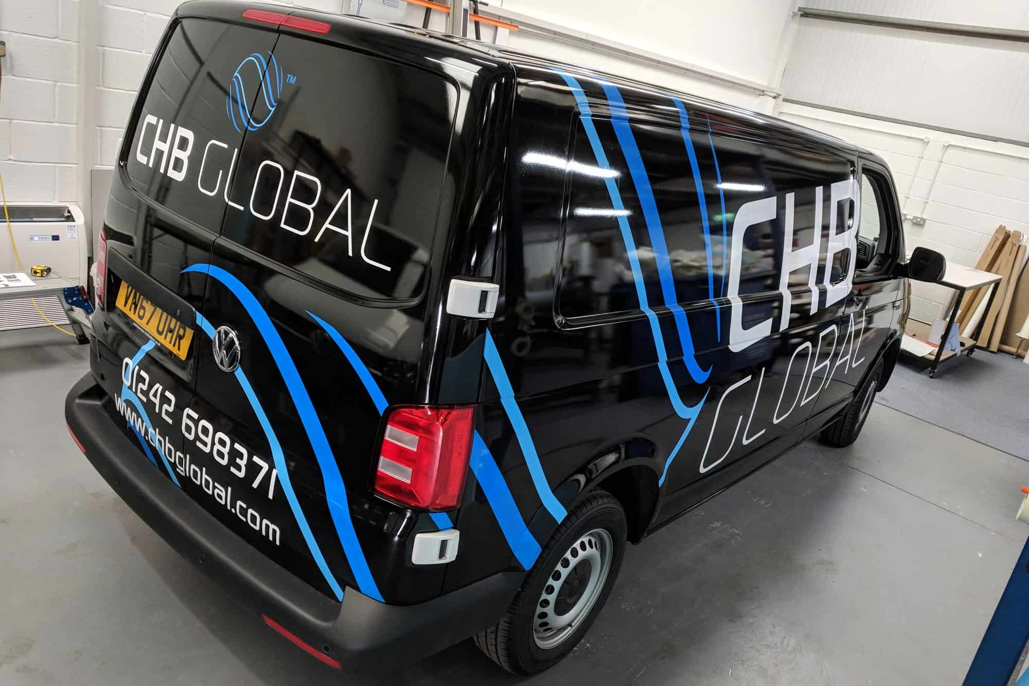 Complete Vehicle Wrap in Avery Supreme Black