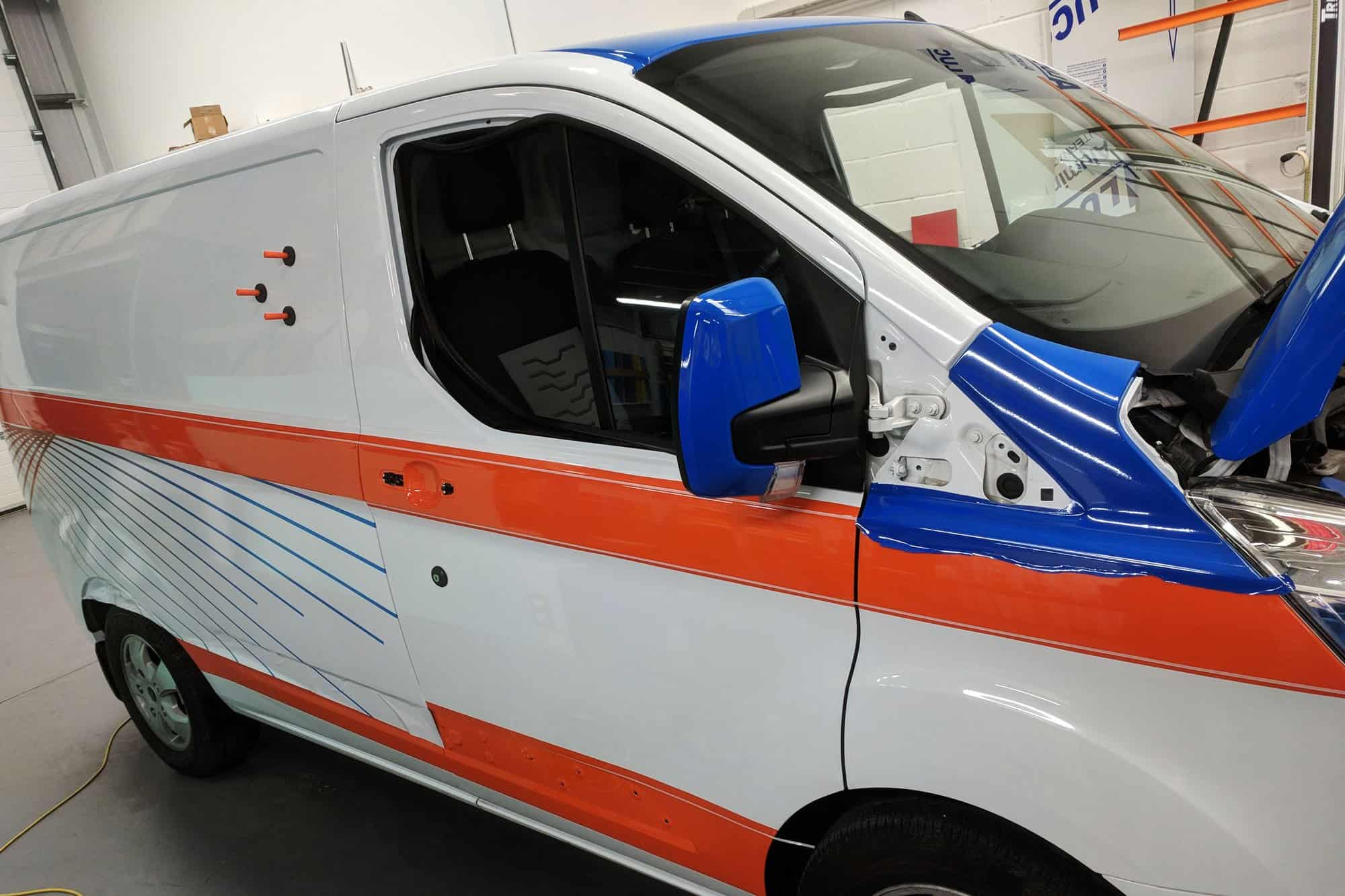 TKR Transit Custom Wrap