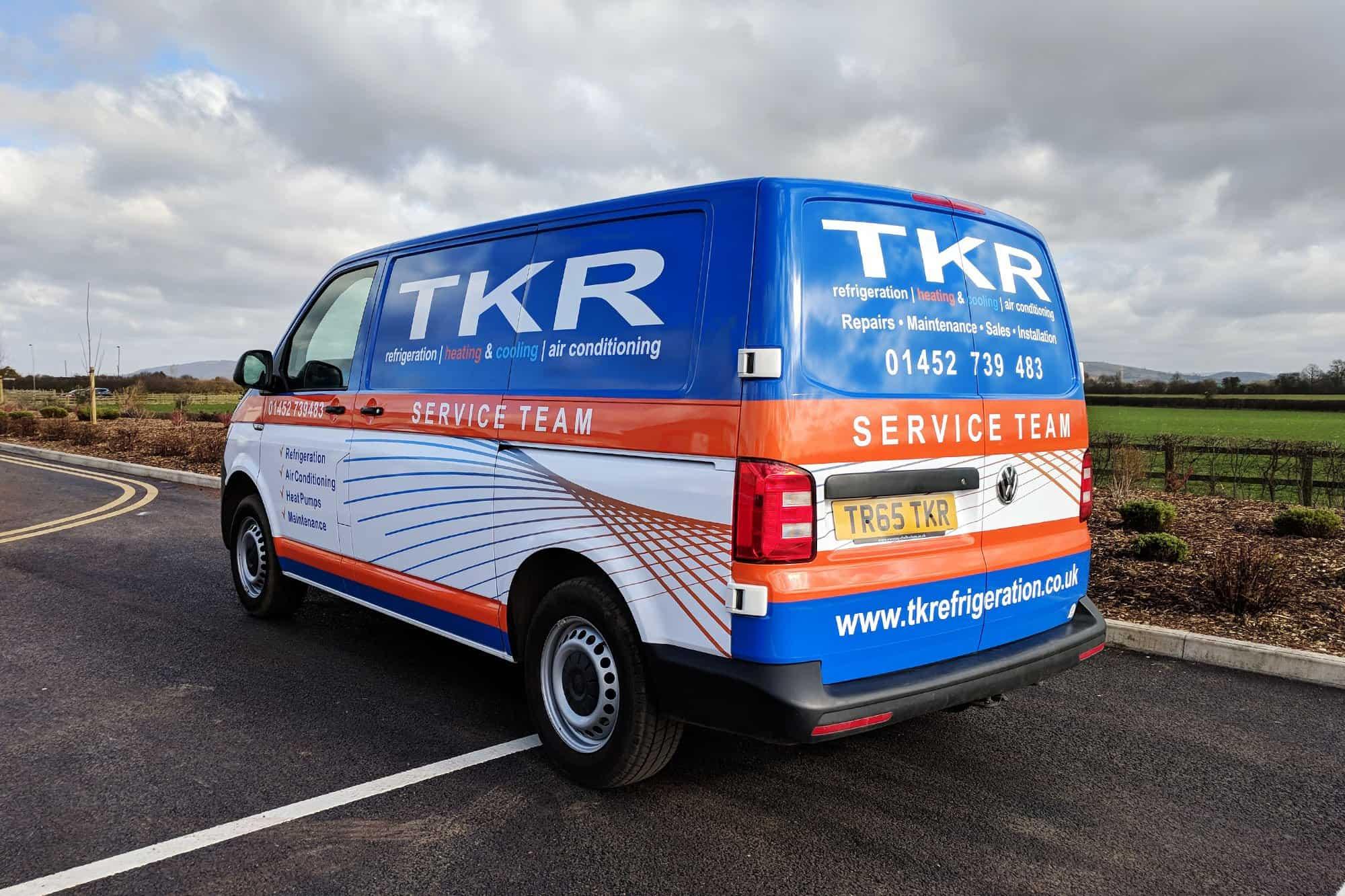 TKR T6 Wrap - fleet vehicle wraps