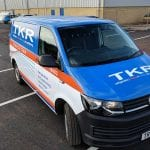 TKR T6 Wrap - fleet vehicle wraps