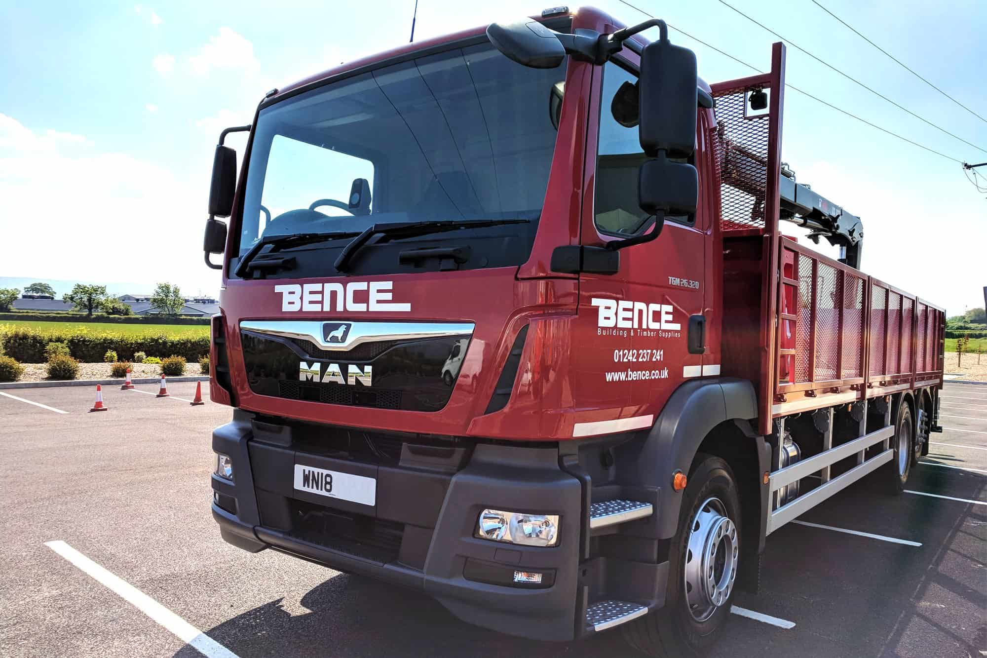 Bence Delivery Lorry