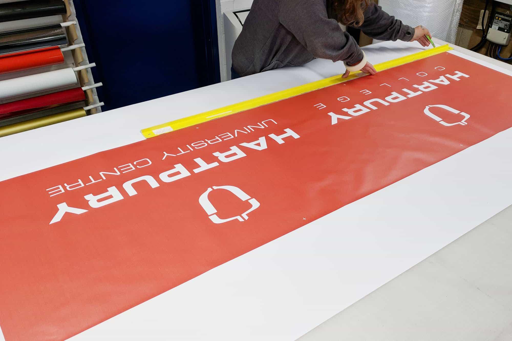 1. Printed Banner Material