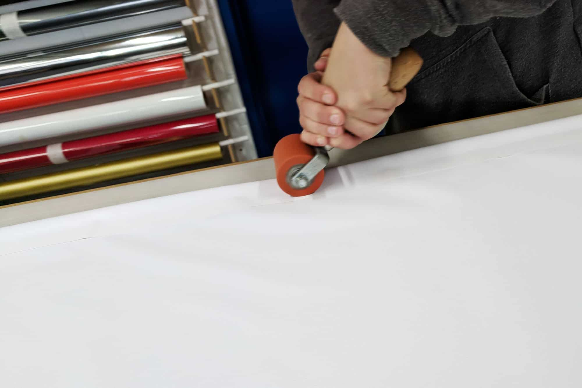 2. Banner Edge Sealing