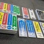 Correx Safety Signage