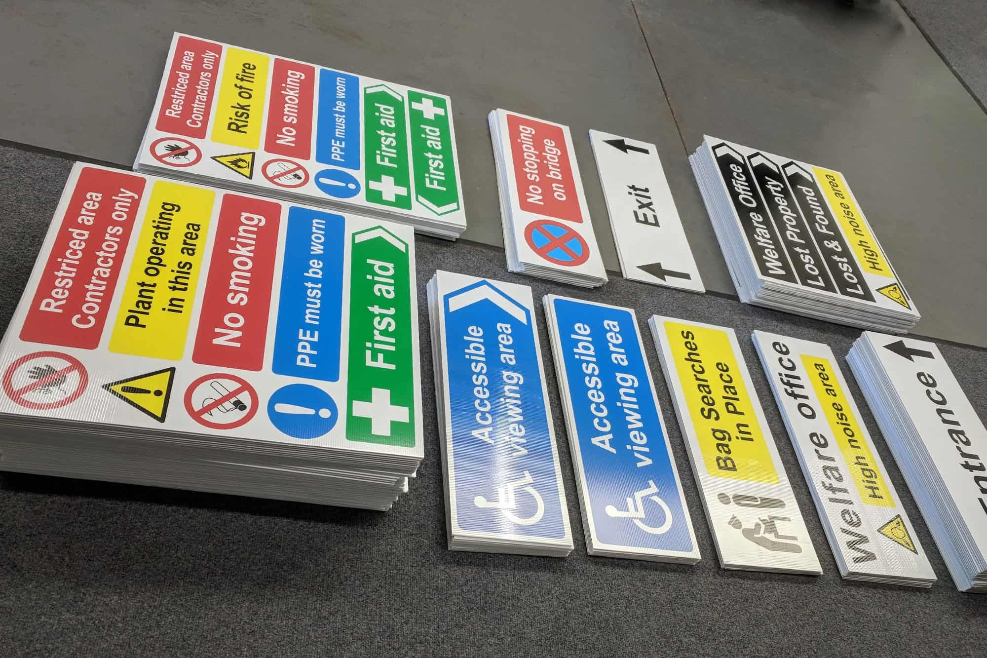 Correx Safety Signage | Health and Safety Signs