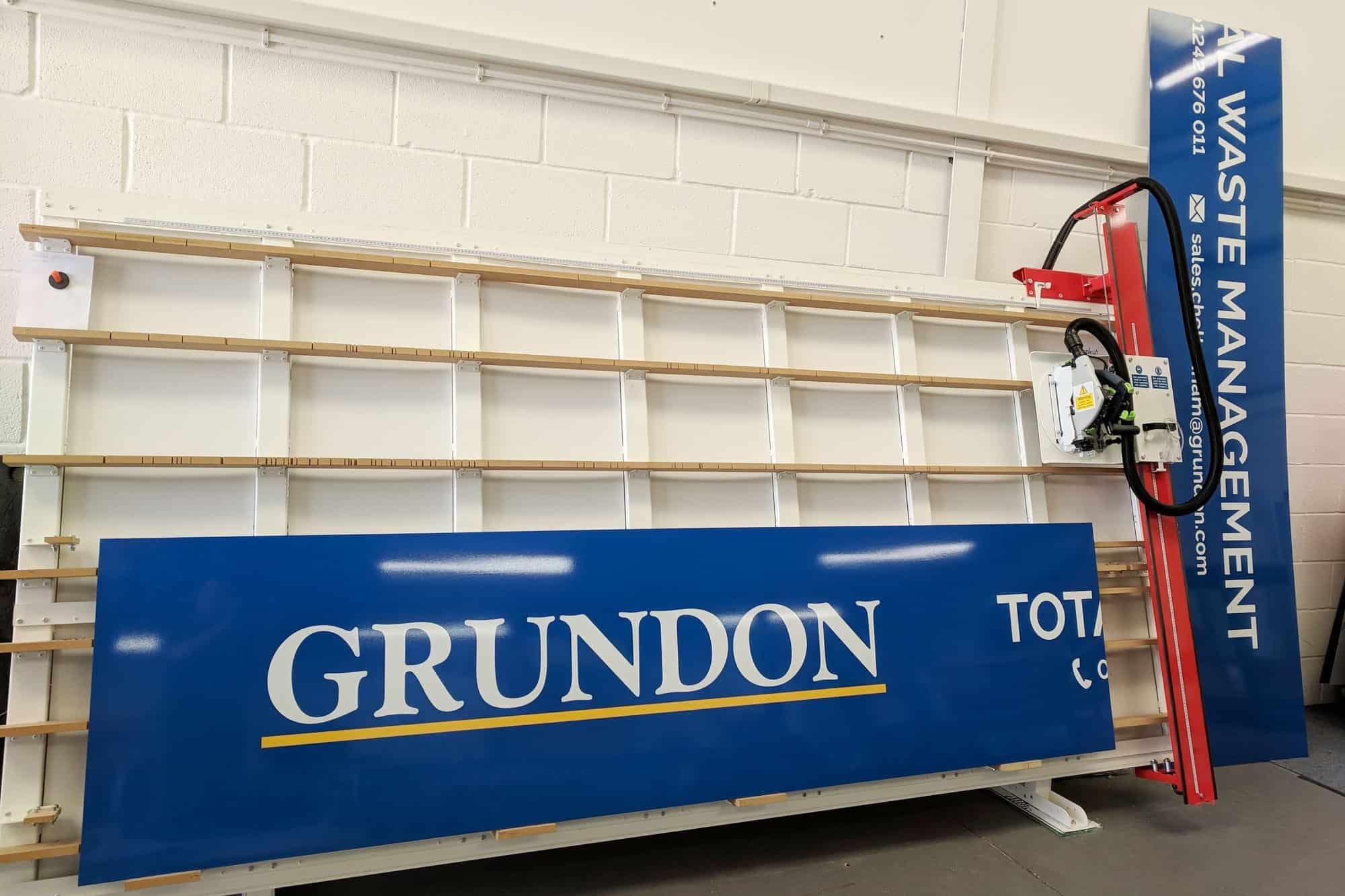 Grundon Dibond Sign
