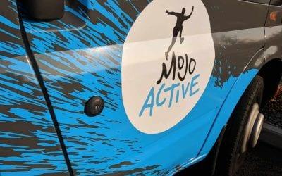 Transit Minibus Partial Wraps | Mojo Active