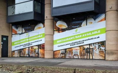 Temporary Advertising Hoarding | Five Valleys