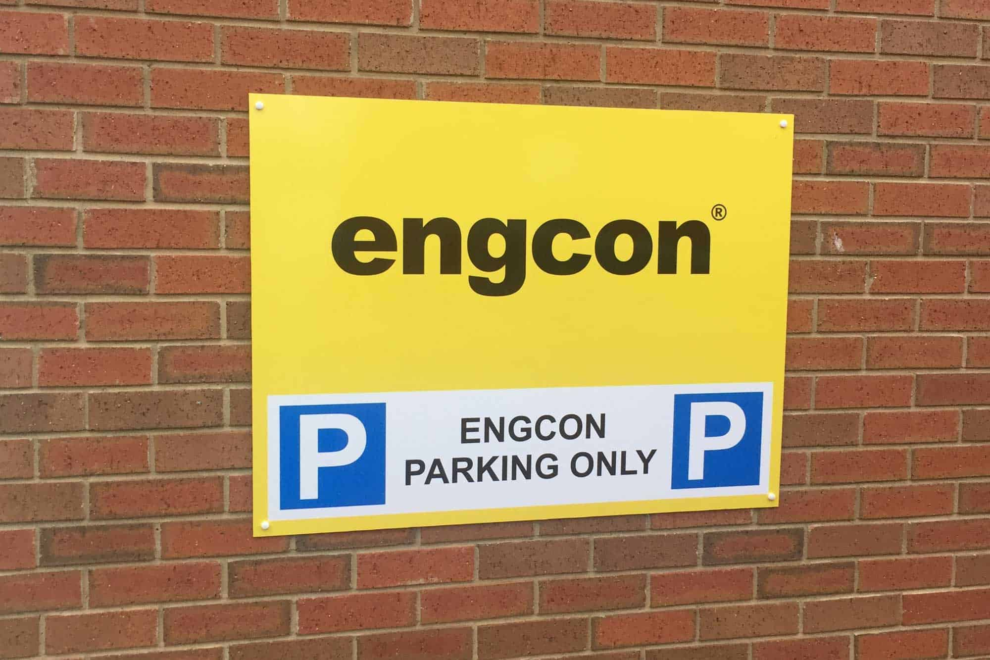 Industrial Estate parking sign