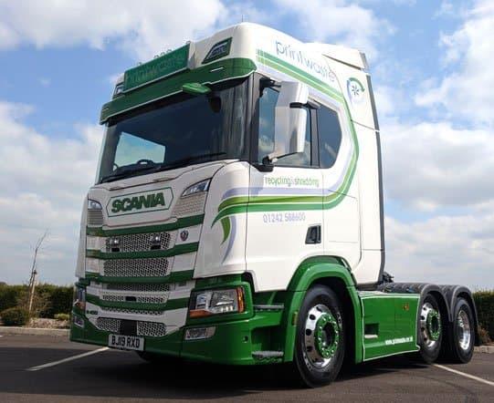 Printwaste Scania Tractor Unit