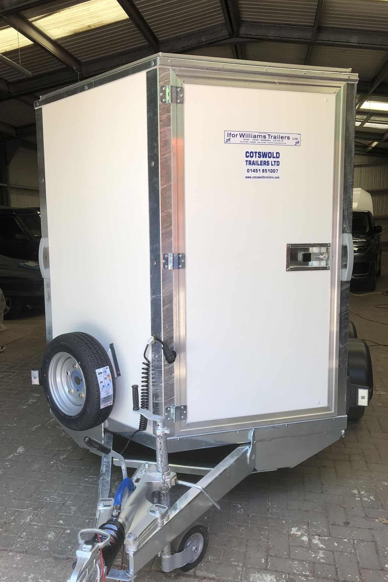 Ifor Williams BV wrapped trailer