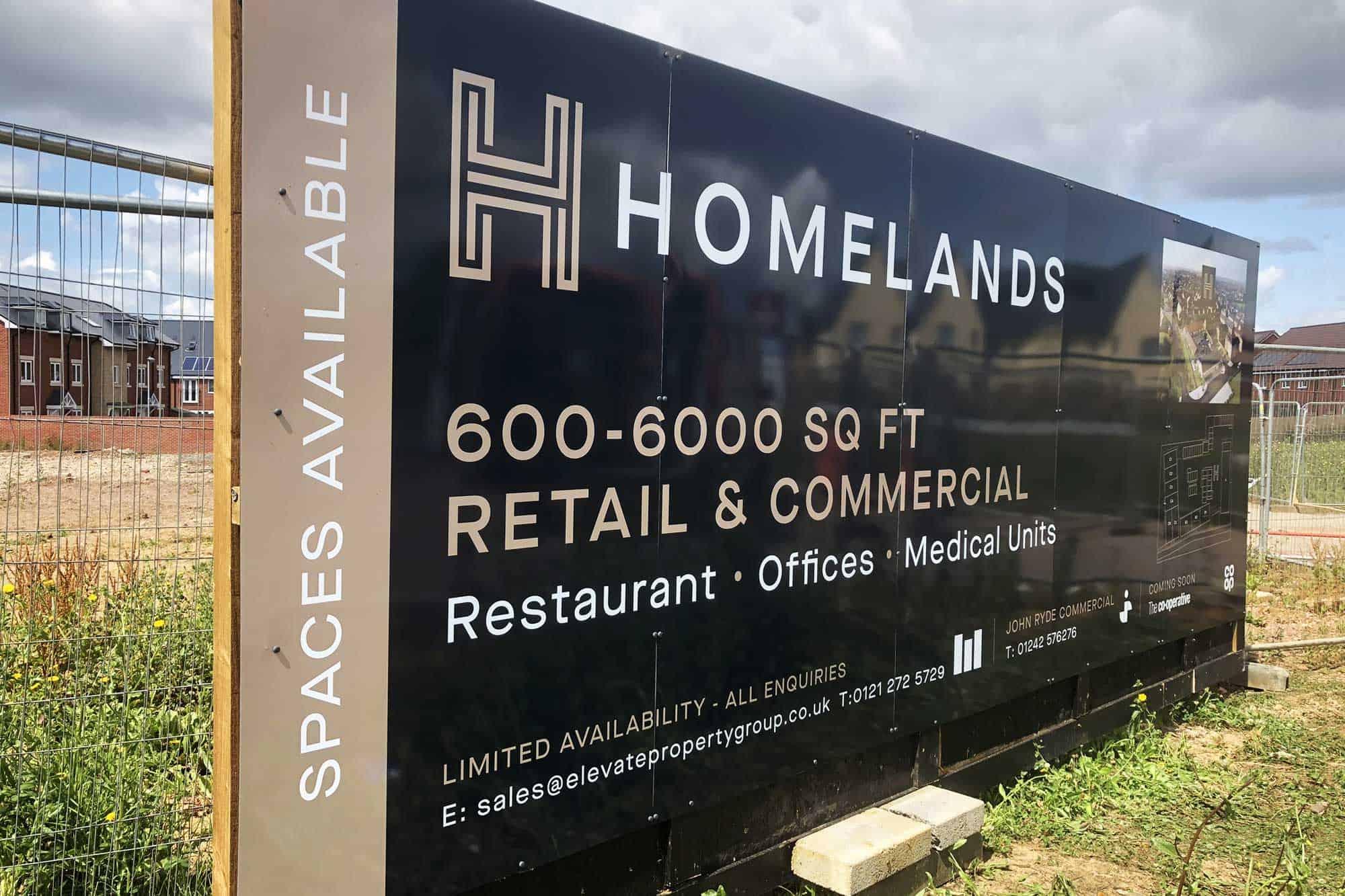Building Site Hoarding Boards