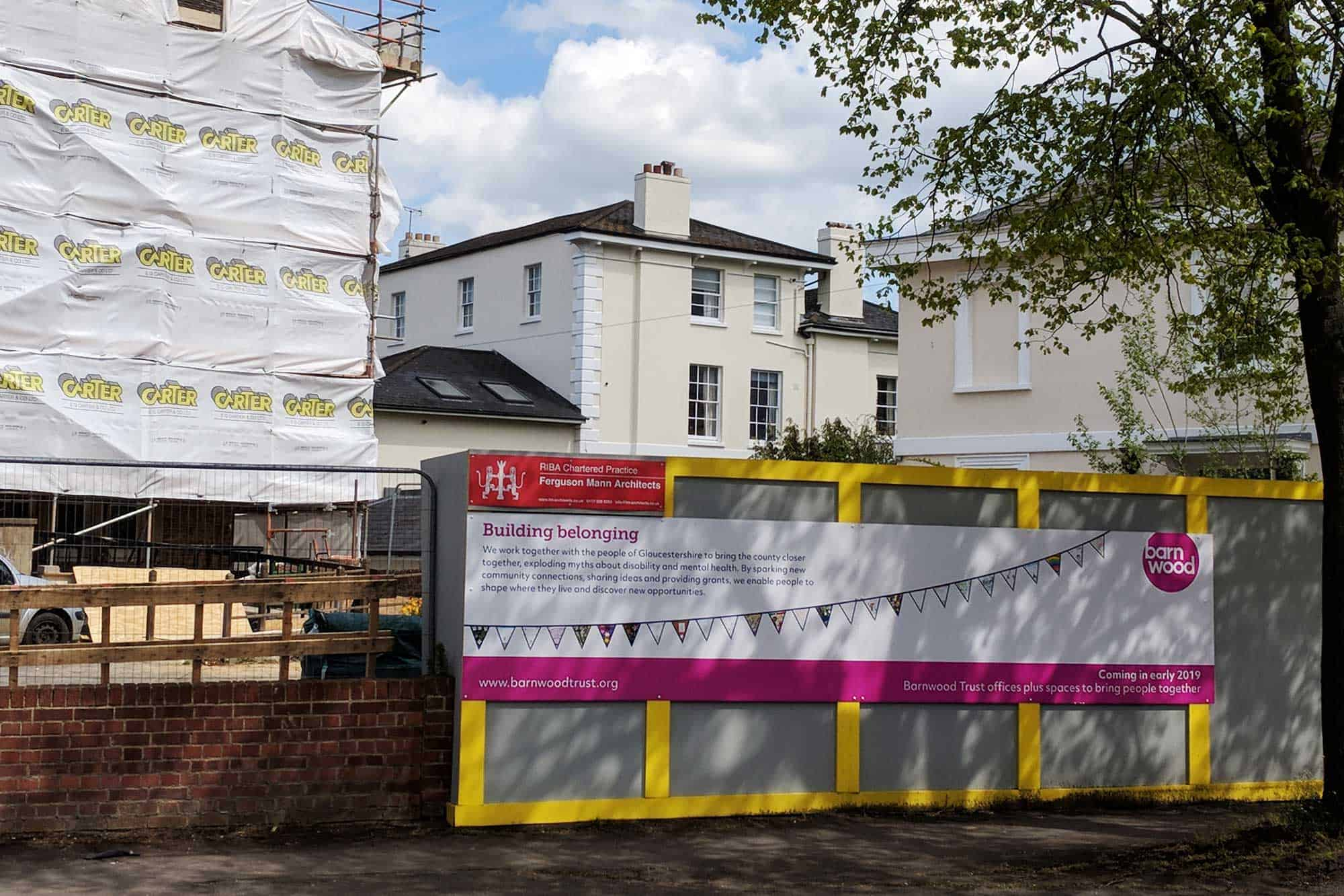 Building Site Hoarding Boards
