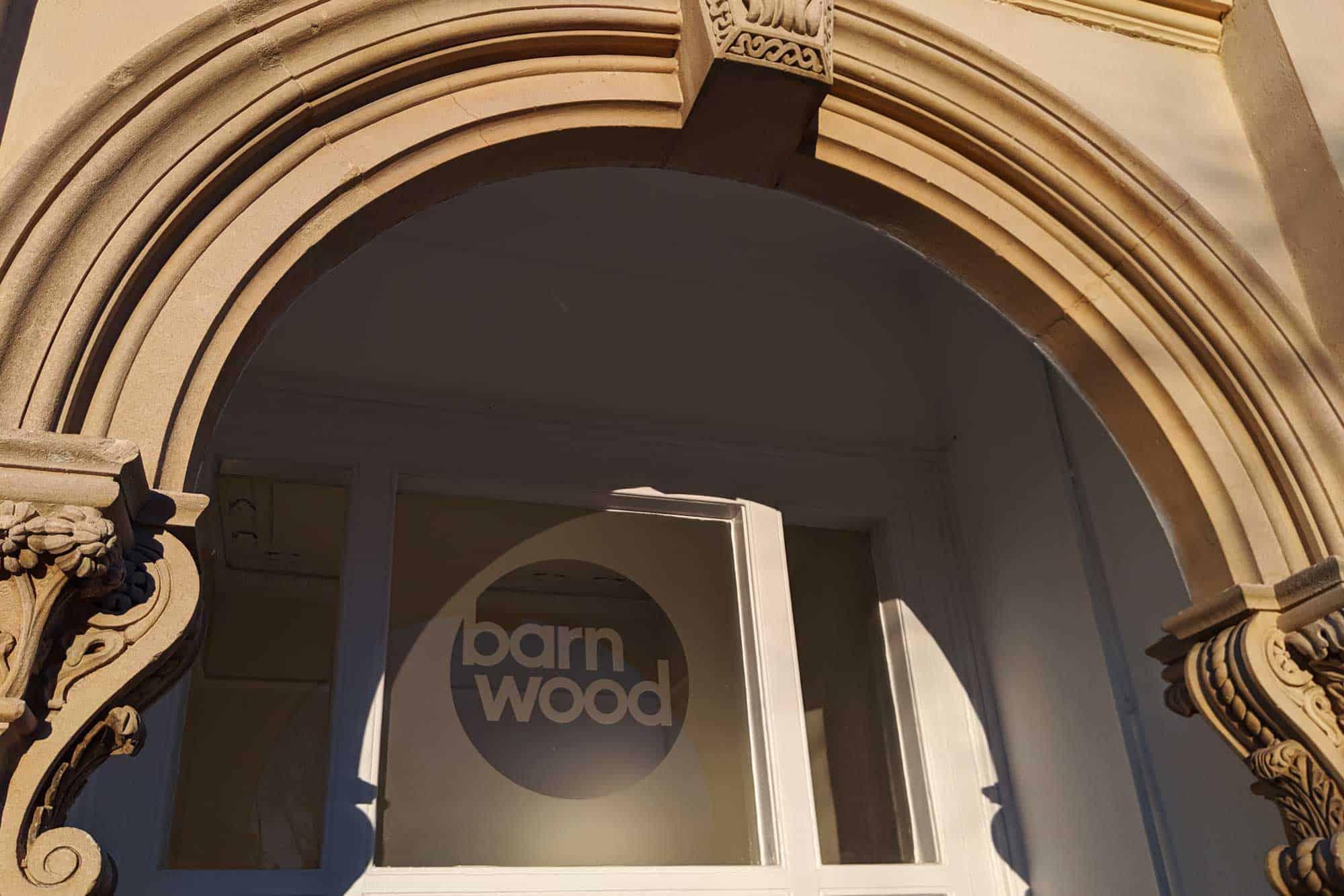 Barnwood Trust Signage window frosting Window Graphics
