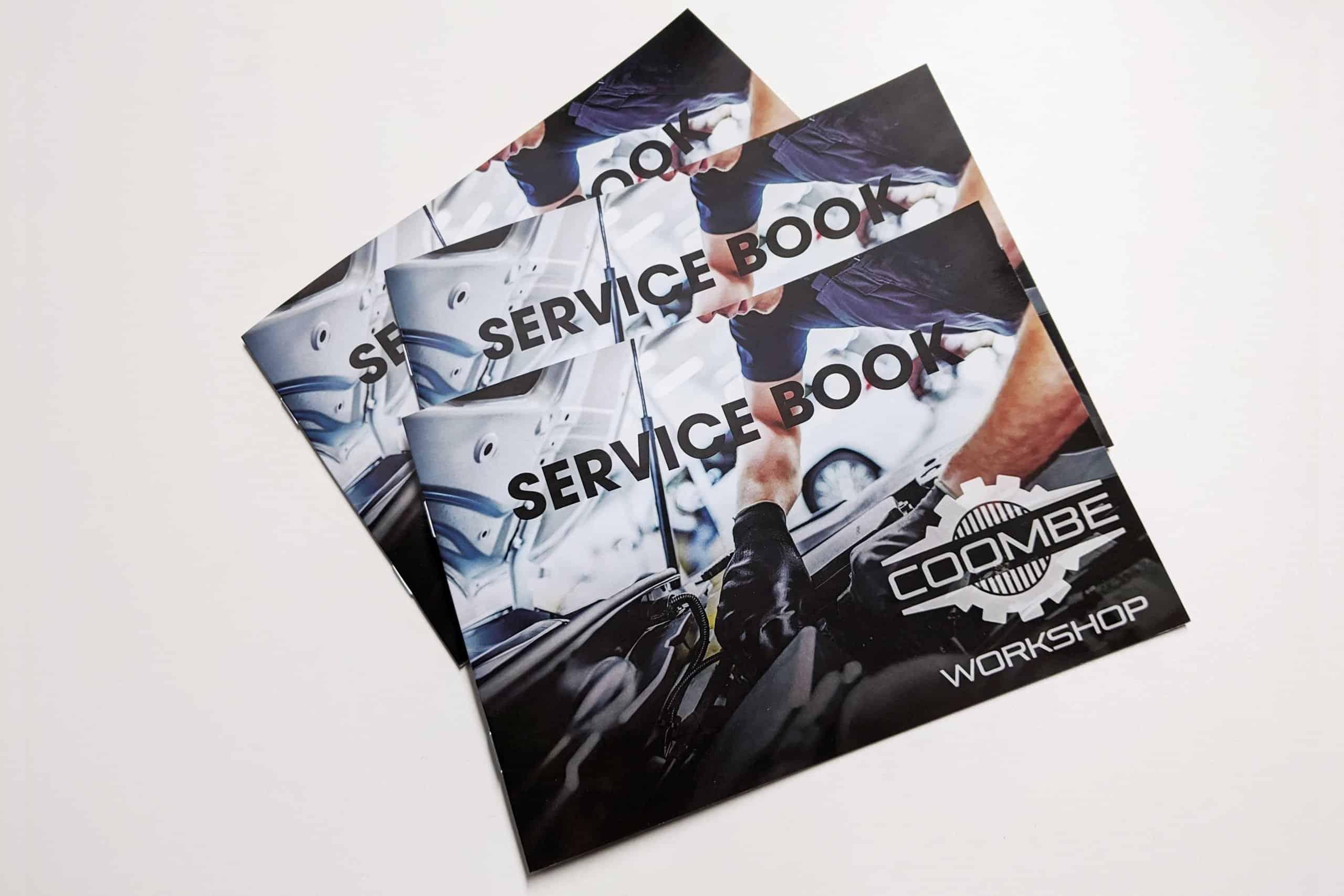 printed service books