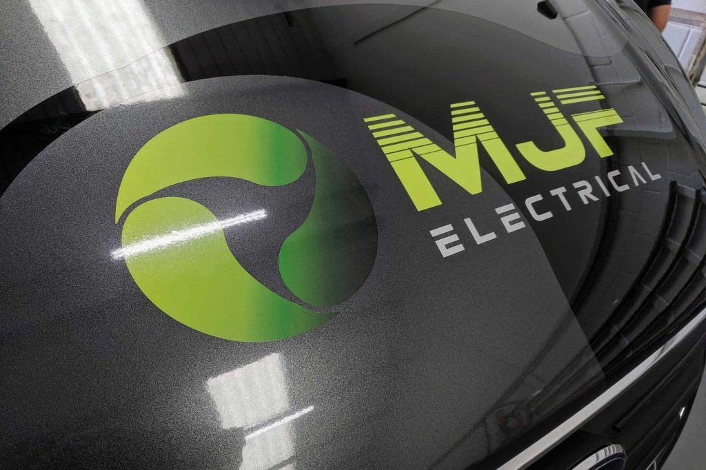 MJF Electrical Updated Branding