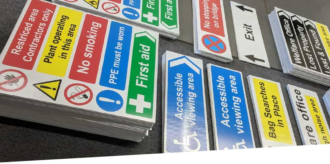 Health and Safety Signs Top Image