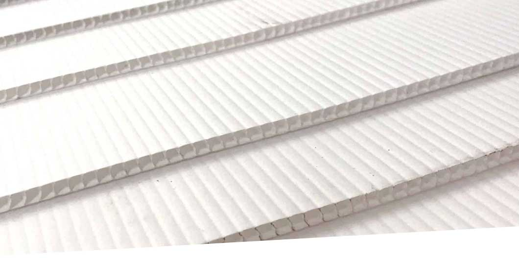 Correx Fluted Plastic Top Image