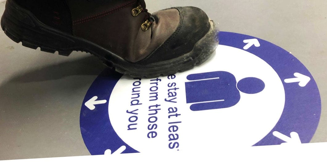 Floor stickers top image