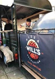 Custom Banner Printing for Will's Pizza